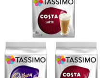 tassimo pods costa coffee